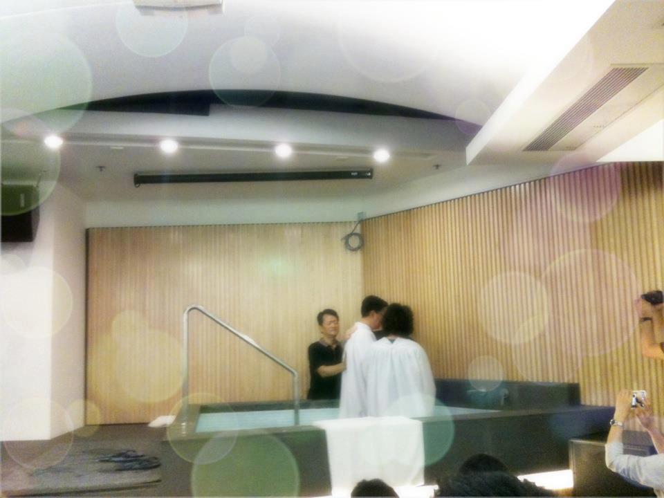 浸禮 2012年4月15日